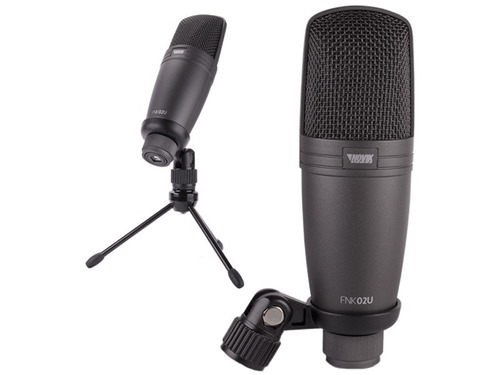 microfono novik fnk02u condenser usb p/estudio home
