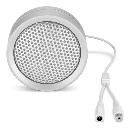 micrófono omnidireccional 10-70 m2 metálico salida rca dahua