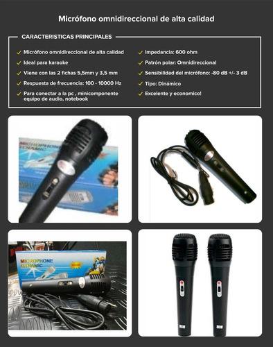 micrófono omnidireccional de alta calidad f a c t u r a  a!!