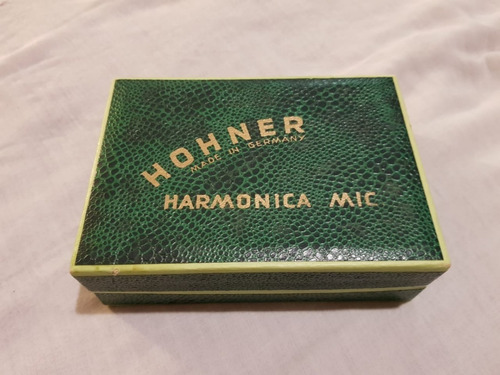 micrófono para armónica hohner original