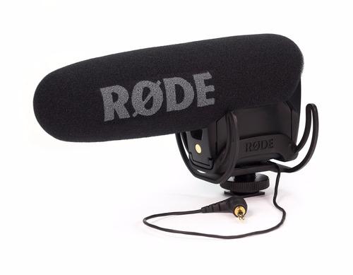 micrófono para cámaras reflex rode videomic pro
