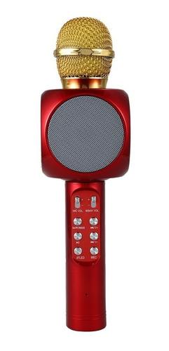 microfono parlante karaoke con bluetooth mp3 / technosouless