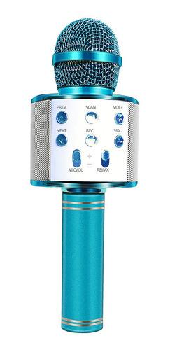 microfono parlante karaoke inalambrico