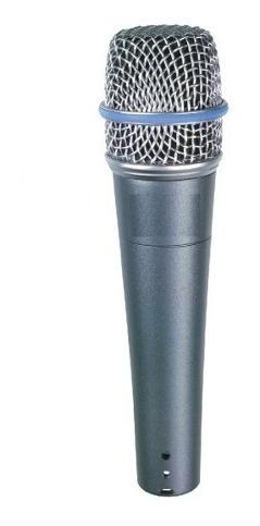 micrófono parquer 57 beta dinámico supercardioide con cable