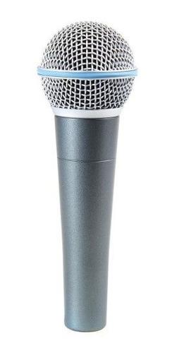 micrófono parquer 58 beta dinámico supercardioide para voz