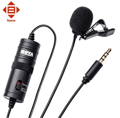 microfono pechero solapero boya by m1 camara dslr smartphone