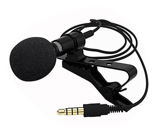 microfono pechero solapero celular android iphone + funda