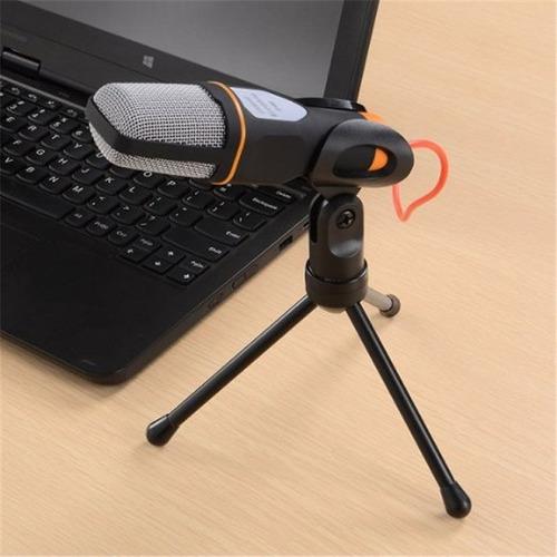 microfono podcast tripode condenser 3,5mm envio gratis