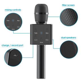 Micrófono Portátil Tzumi Popsolo, Karaoke Inalámbrico Bluet