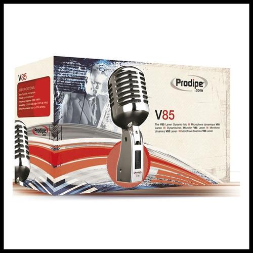 microfono prodipe v85 cromado t/shure 55sh - en palermo