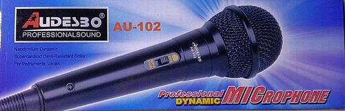 microfono profesional alambrico audio
