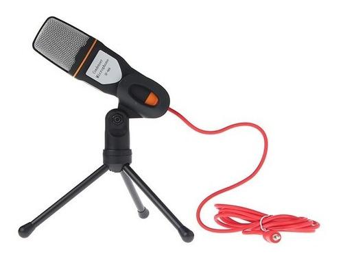 micrófono profesional condensador laptop pc celular 3.5mm