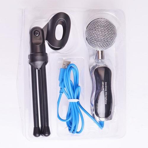 microfono profesional de estudio capacitivo para pc usb