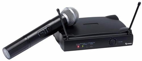 micrófono profesional inalámbrico uhf, con receptor garantia