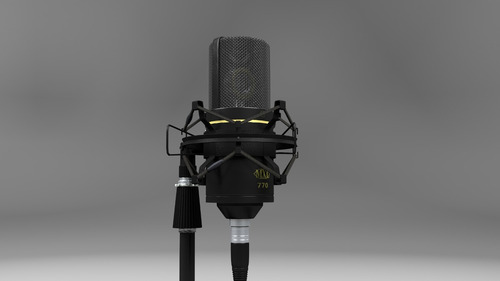 microfono profesional mxl 770 cardioide condensador
