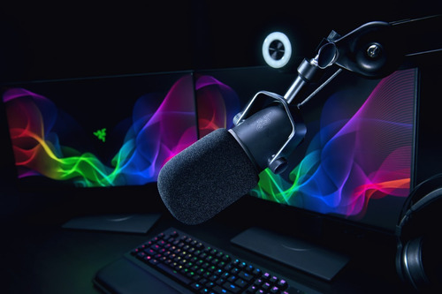 micrófono profesional razer seiren elite
