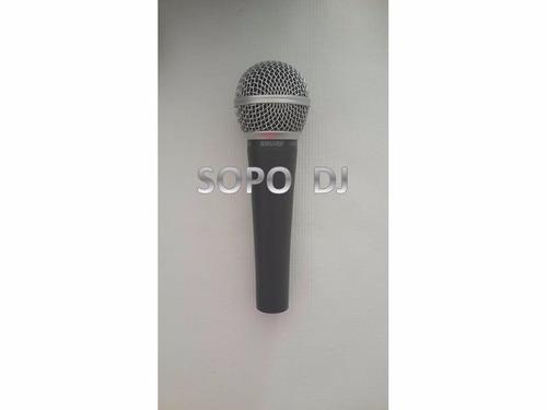 micrófono profesional shure