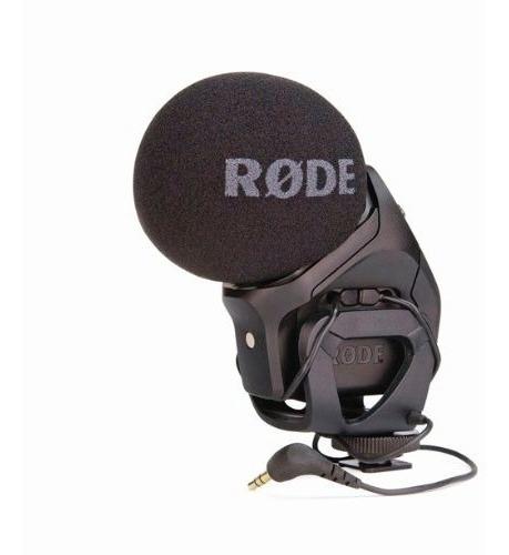 micrófono rode stereo videomic pro para cámara