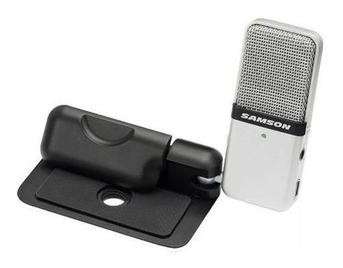 microfono samson go mic condenser usb soundgroup.