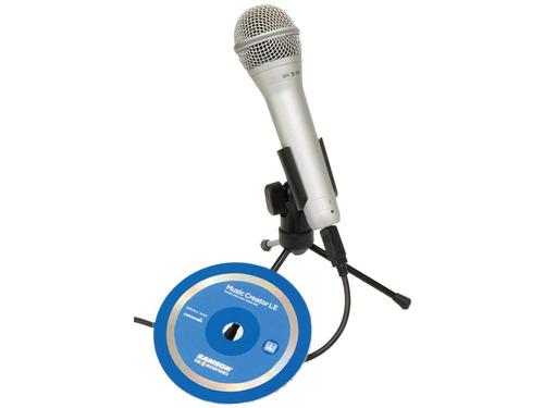 microfono samson q1u usb - broadcast - voces