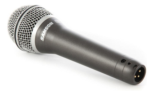 micrófono samson q7 dinámico negro
