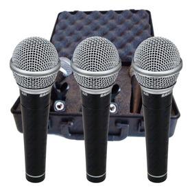 Microfono Samson R21 X3 Set+estuche+pipetas / Open 41 Ei