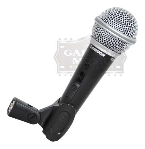 micrófono samson r21s original pipeta cable adaptador