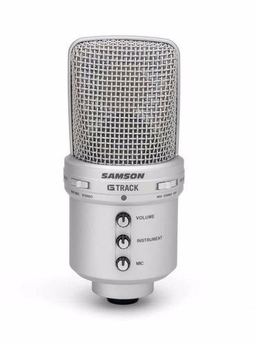 microfono samson sagm1u condenser usb