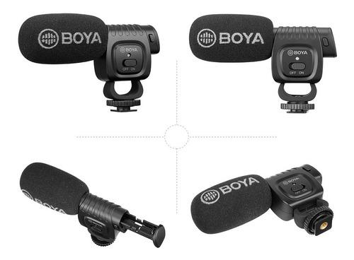 microfono shotgun boya celular smartphone dslr bm3011