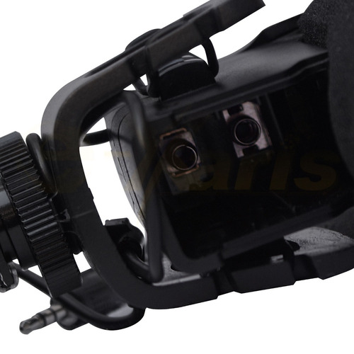micrófono shotgun new profesional para cámara de video xaris
