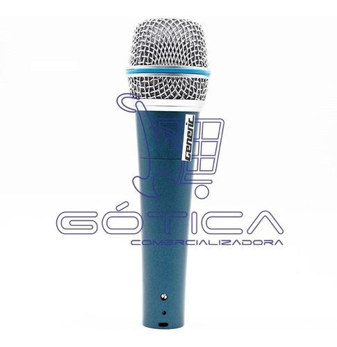 microfono shugeneric 57a alámbrico vocal supercardioide prof