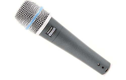 microfono shure beta-57a dinámico supercardioide envio cuota