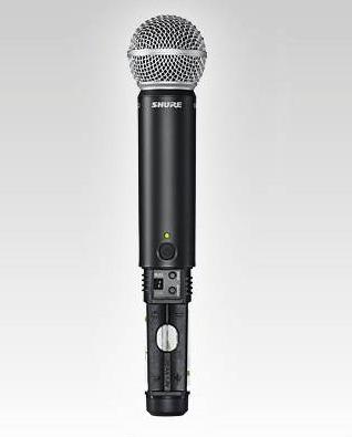 microfono shure de mano y headset / blx1288/pg30 + diadema