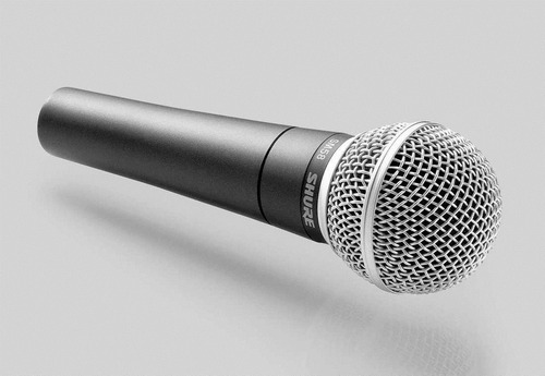 micrófono shure dinámico