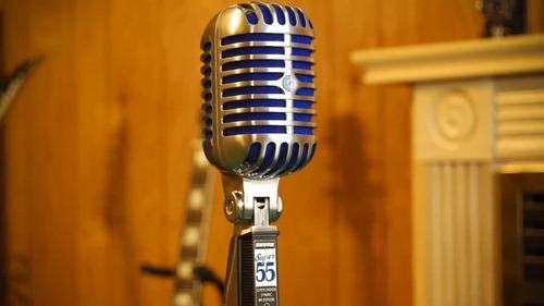 microfono shure dinamico clasico super55 super 55