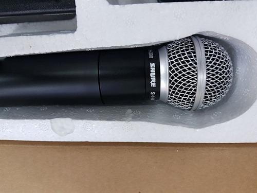 micrófono shure inalámbrico modelo sh-200 audio sku4067