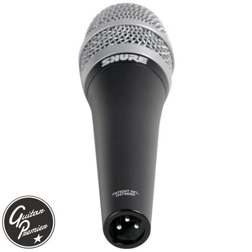 microfono shure pg57 dinamico pro + pipeta + funda original