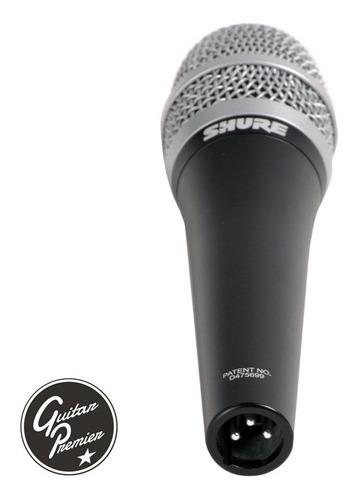 microfono shure pg57 dinámico profesional + pipeta + funda