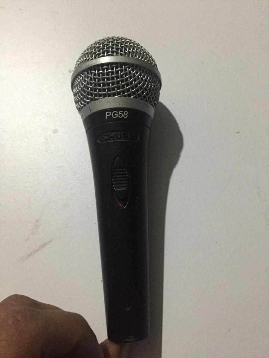 Microfono Shure Pg58 2 200 00 En Mercado Libre