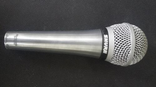 microfono shure pg58 + clip + paral cambio