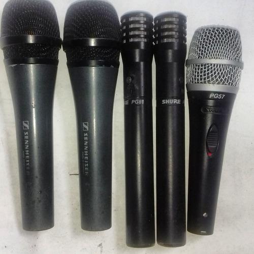 microfono shure pg81