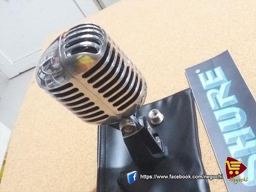 micrófono shure sh55 serie ii - modelo clasico