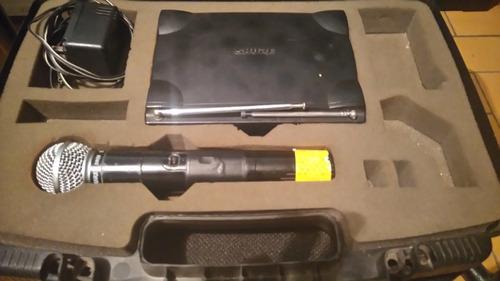 microfono shure sm 58 inalambrico