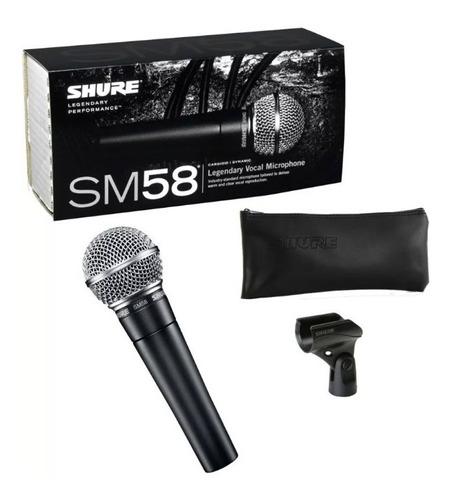 micrófono shure sm58 lc dinámico original garantia hot sale