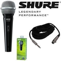 micrófono shure sv100 con cable xlr-1/4 línea nueva!