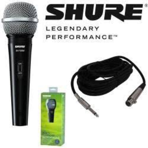 micrófono shure sv100 nuevo entrega personal