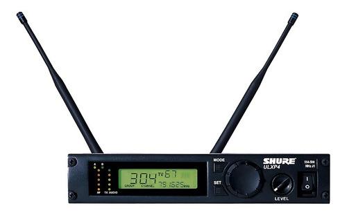 micrófono shure ulxp4 con sm58 inalambrico