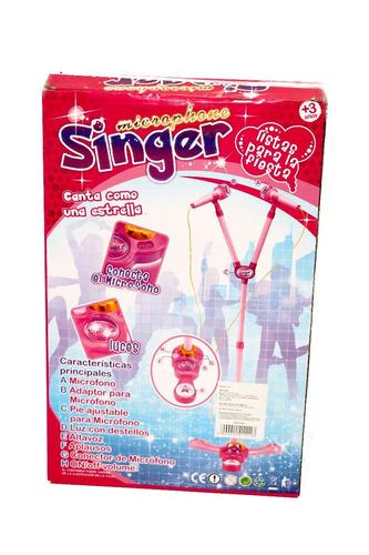 micrófono singer