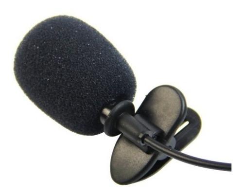 micrófono solapa clip anti-ruido cámara computador laptop