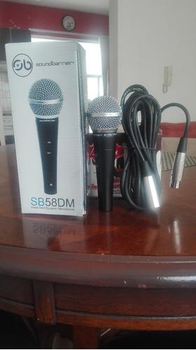 microfono sound barrier mod. sb58dm